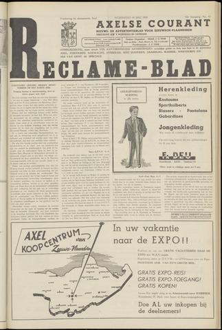 Axelsche Courant 1958-07-30