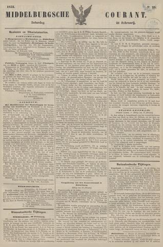 Middelburgsche Courant 1852-02-21
