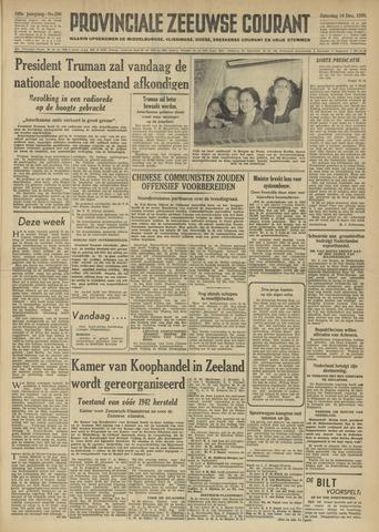 Provinciale Zeeuwse Courant 1950-12-16