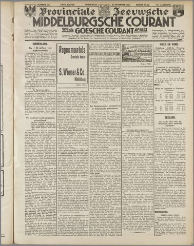 Middelburgsche Courant 1935-11-28