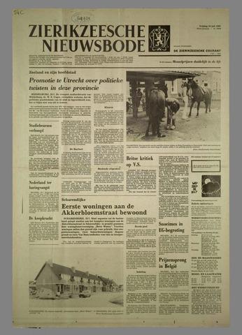 Zierikzeesche Nieuwsbode 1981-07-24
