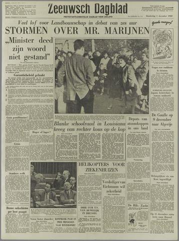 Zeeuwsch Dagblad 1960-12-01