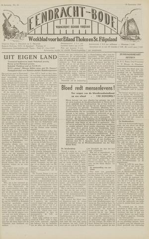 Eendrachtbode (1945-heden)/Mededeelingenblad voor het eiland Tholen (1944/45) 1949-09-30