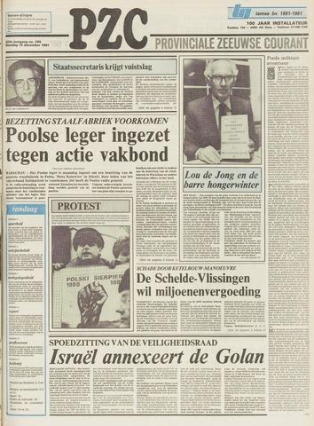 Provinciale Zeeuwse Courant 1981-12-15