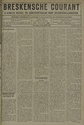 Breskensche Courant 1919-11-19