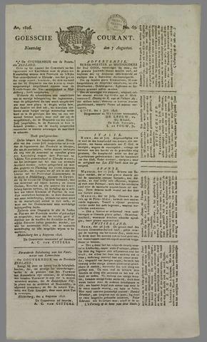 Goessche Courant 1826-08-07