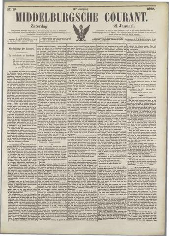 Middelburgsche Courant 1899-01-21