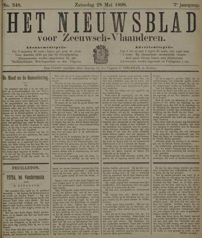 Nieuwsblad voor Zeeuwsch-Vlaanderen 1898-05-28