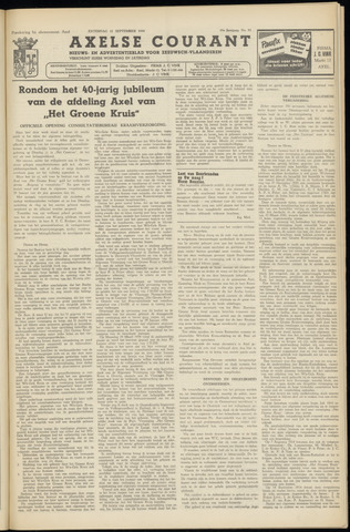 Axelsche Courant 1954-09-11