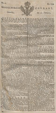 Middelburgsche Courant 1779-02-20