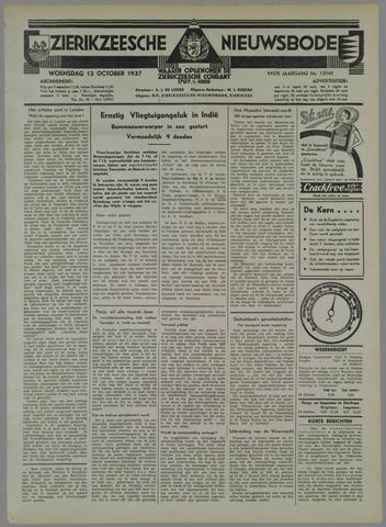 Zierikzeesche Nieuwsbode 1937-10-13