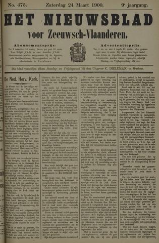 Nieuwsblad voor Zeeuwsch-Vlaanderen 1900-03-24
