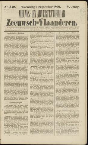 Ter Neuzensche Courant. Algemeen Nieuws- en Advertentieblad voor Zeeuwsch-Vlaanderen / Neuzensche Courant ... (idem) / (Algemeen) nieuws en advertentieblad voor Zeeuwsch-Vlaanderen 1860-09-05