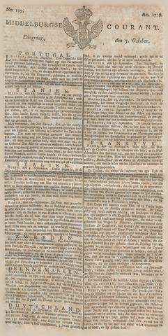 Middelburgsche Courant 1779-10-05