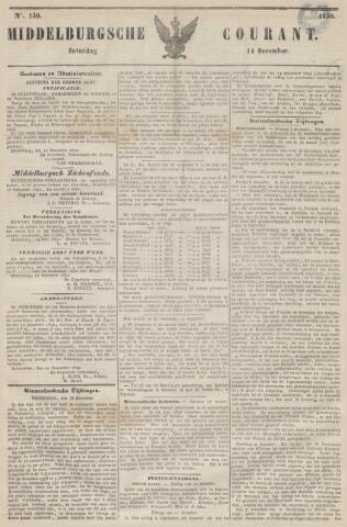 Middelburgsche Courant 1850-12-14