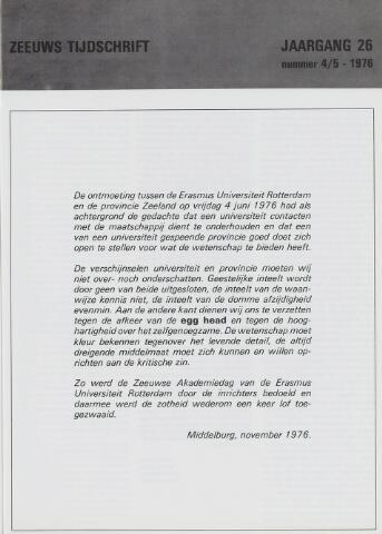Zeeuws Tijdschrift 1976-08-15