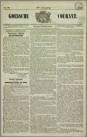 Goessche Courant 1856-02-04