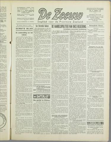 De Zeeuw. Christelijk-historisch nieuwsblad voor Zeeland 1937-11-06