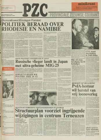 Provinciale Zeeuwse Courant 1976-09-07