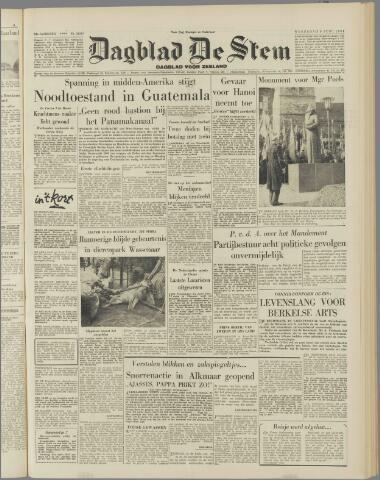 de Stem 1954-06-09