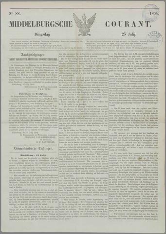 Middelburgsche Courant 1854-07-25