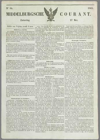 Middelburgsche Courant 1865-05-27