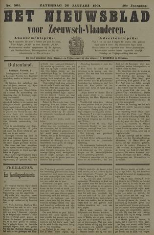 Nieuwsblad voor Zeeuwsch-Vlaanderen 1901-01-26
