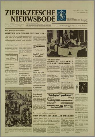 Zierikzeesche Nieuwsbode 1972-11-17