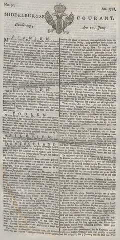 Middelburgsche Courant 1778-06-11