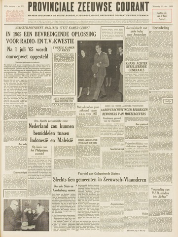 Provinciale Zeeuwse Courant 1964-12-23