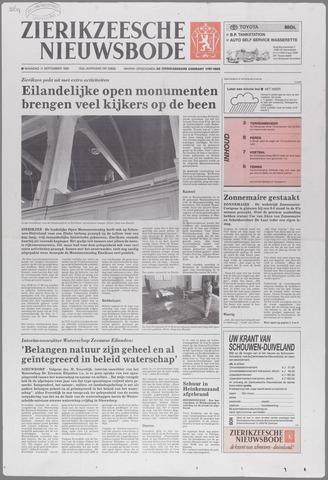 Zierikzeesche Nieuwsbode 1995-09-11