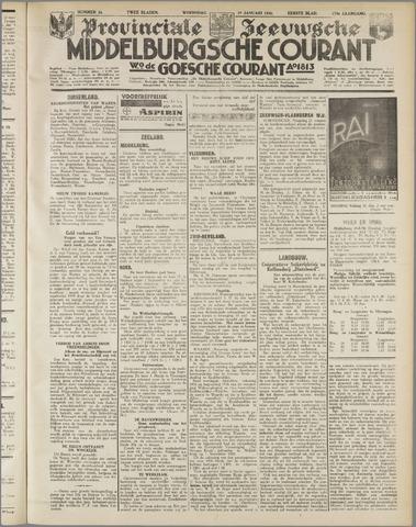 Middelburgsche Courant 1936-01-29