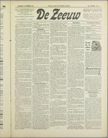 De Zeeuw. Christelijk-historisch nieuwsblad voor Zeeland 1934-12-13