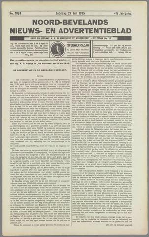 Noord-Bevelands Nieuws- en advertentieblad 1935-07-27