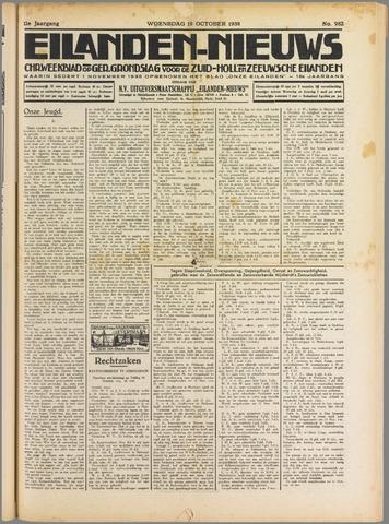 Eilanden-nieuws. Christelijk streekblad op gereformeerde grondslag 1938-10-19