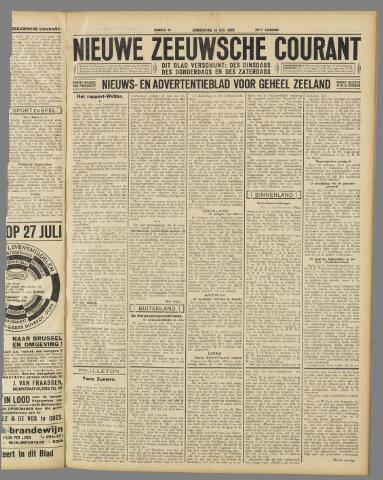 Nieuwe Zeeuwsche Courant 1932-07-14