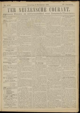 Ter Neuzensche Courant. Algemeen Nieuws- en Advertentieblad voor Zeeuwsch-Vlaanderen / Neuzensche Courant ... (idem) / (Algemeen) nieuws en advertentieblad voor Zeeuwsch-Vlaanderen 1918-11-02