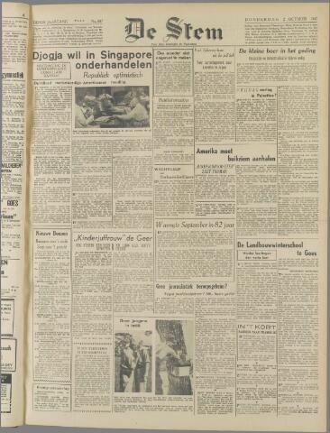 de Stem 1947-10-02