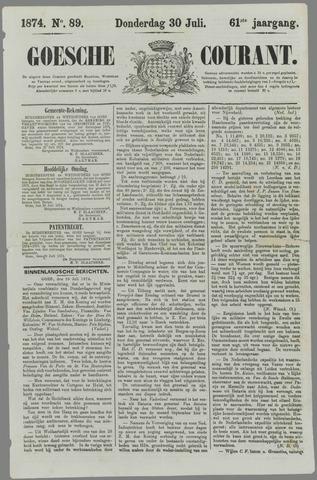 Goessche Courant 1874-07-30