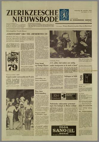 Zierikzeesche Nieuwsbode 1972-09-28