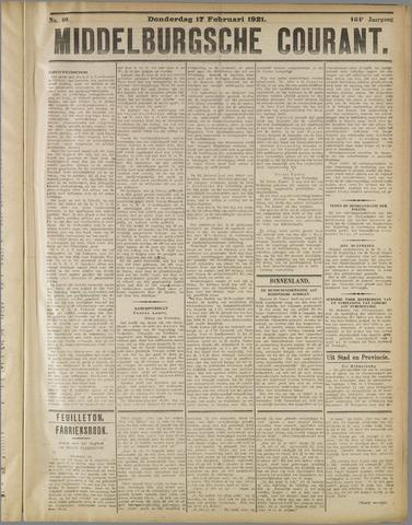 Middelburgsche Courant 1921-02-17