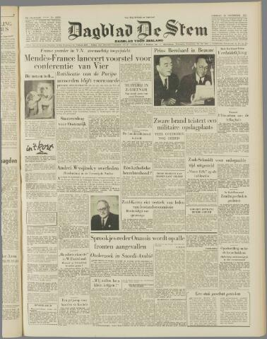 de Stem 1954-11-23