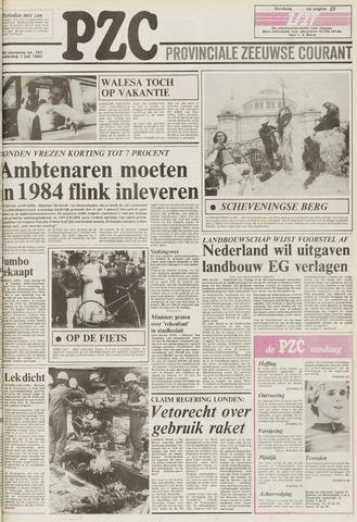 Provinciale Zeeuwse Courant 1983-07-07