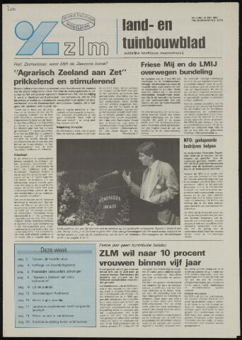 Zeeuwsch landbouwblad ... ZLM land- en tuinbouwblad 1991-05-10