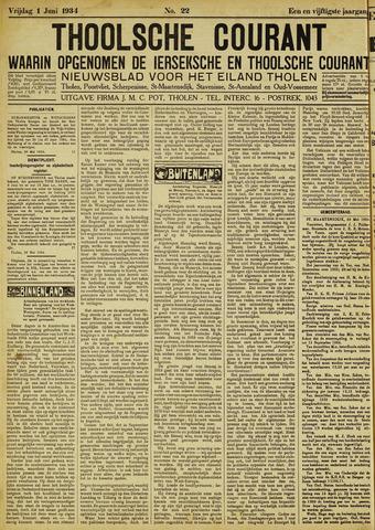 Ierseksche en Thoolsche Courant 1934-06-01