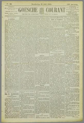 Goessche Courant 1919-07-31