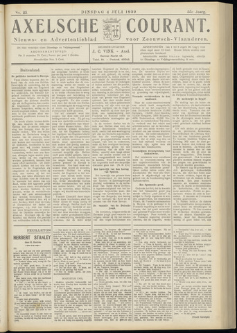 Axelsche Courant 1939-07-04