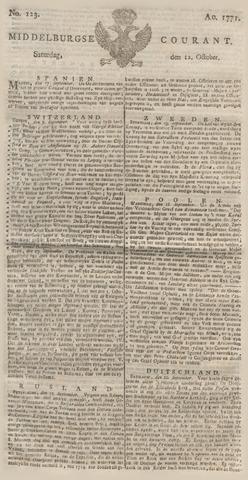 Middelburgsche Courant 1771-10-12