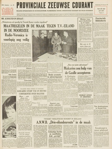 Provinciale Zeeuwse Courant 1964-02-27