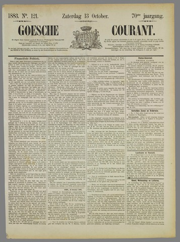 Goessche Courant 1883-10-13